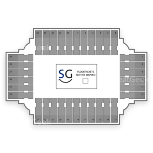 Fargodome Seating Chart Wrestling