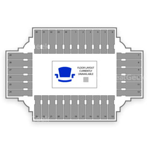 Fargodome Seating Chart NCAA Football