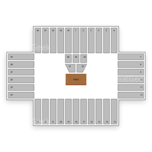 Fargodome Seating Chart Theater