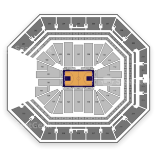 Golden 1 Center Seating Chart NCAA Basketball