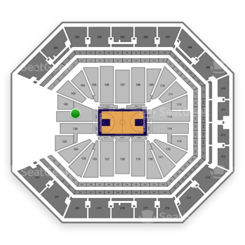 NBA at Golden 1 Center Section 101 View