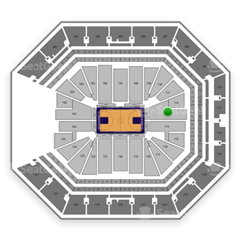 NBA at Golden 1 Center Section 113 View