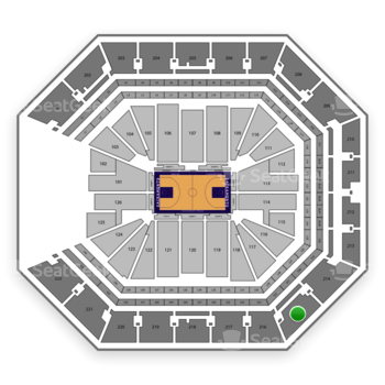 NBA at Golden 1 Center Section 215 View