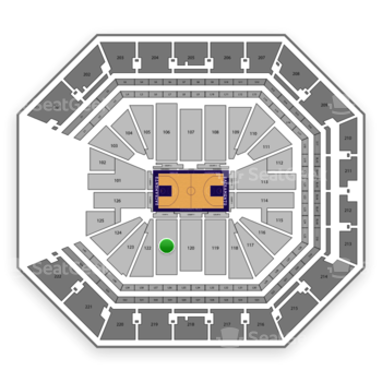 Sacramento Kings at Golden 1 Center Section 121 View