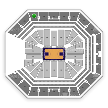 Sacramento Kings at Golden 1 Center Section 203 View