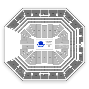 Golden 1 Center Seating Chart NBA
