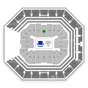 NBA at Golden 1 Center Section 107 View