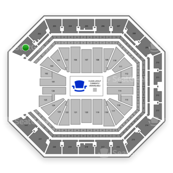 NBA at Golden 1 Center Section 201 View