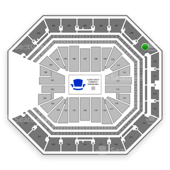 NBA at Golden 1 Center Section 209 View