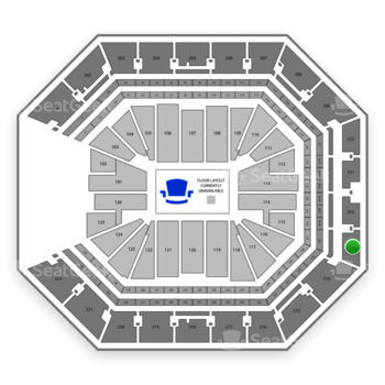 NBA at Golden 1 Center Section 213 View