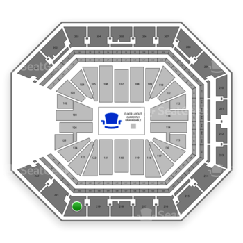 NBA at Golden 1 Center Section 220 View