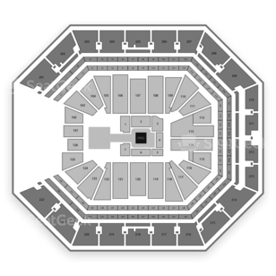Golden 1 Center Seating Chart Wwe
