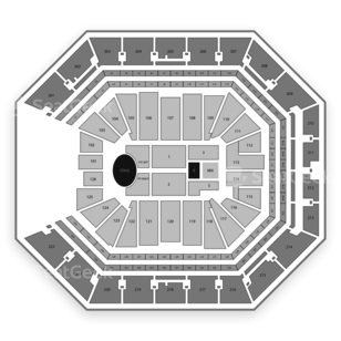 Golden 1 Center Seating Chart Concert