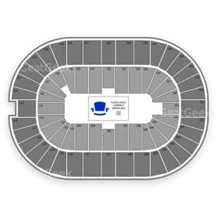FirstOntario Centre Seating Chart Broadway Tickets National
