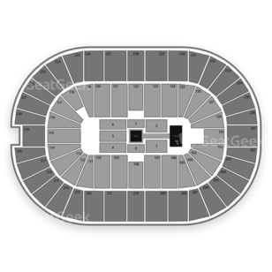 FirstOntario Centre Seating Chart Wwe