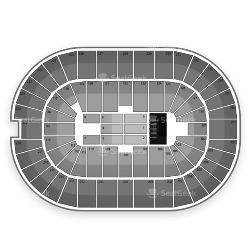 FirstOntario Centre Seating Chart