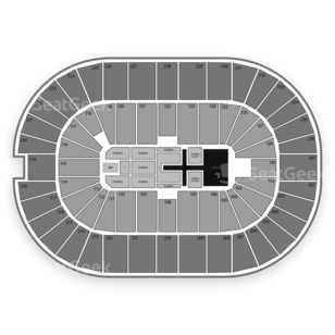 FirstOntario Centre Seating Chart Concert