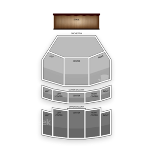Dow Event Center Seating Chart Dance Performance Tour
