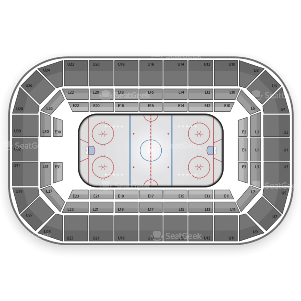 Saginaw Spirit Seating Chart
