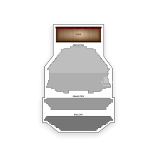 Gammage Auditorium Seating Chart Concert