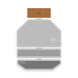 ASU Gammage Seating Chart Classical