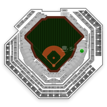 Philadelphia Phillies at Citizens Bank Park Section 111 View