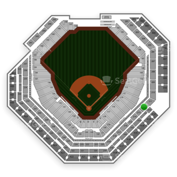 Philadelphia Phillies at Citizens Bank Park Section 212 View
