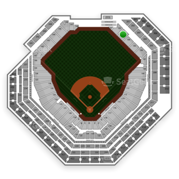Philadelphia Phillies at Citizens Bank Park Section 103 View