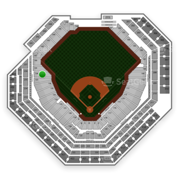 Philadelphia Phillies at Citizens Bank Park Section 138 View