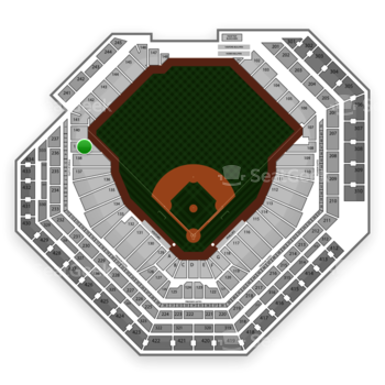 Philadelphia Phillies at Citizens Bank Park Section 139 View