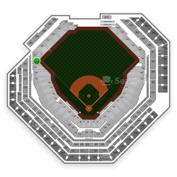 Philadelphia Phillies at Citizens Bank Park Section 140 View