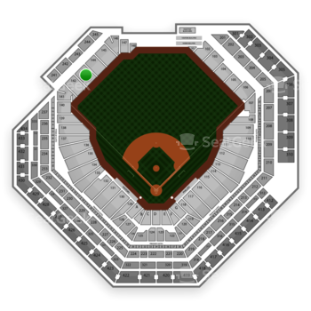 Philadelphia Phillies at Citizens Bank Park Section 143 View