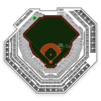 Philadelphia Phillies at Citizens Bank Park Section 145 View