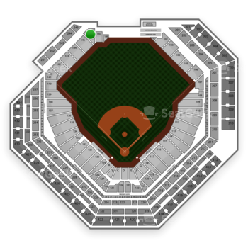 Philadelphia Phillies at Citizens Bank Park Section 146 View
