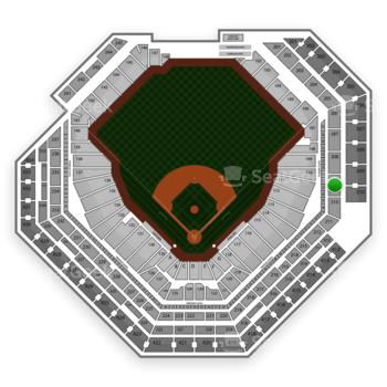 Philadelphia Phillies at Citizens Bank Park Section 209 View