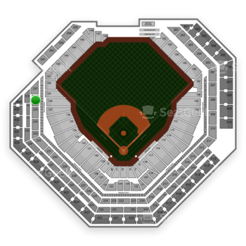 Philadelphia Phillies at Citizens Bank Park Section 236 View