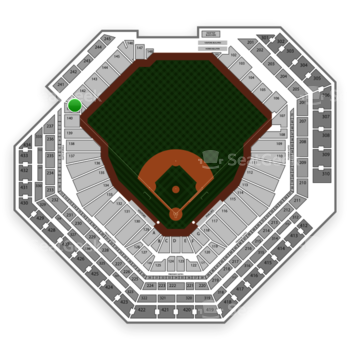 Philadelphia Phillies at Citizens Bank Park Section 141 View