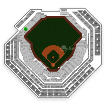 Philadelphia Phillies at Citizens Bank Park Section 142 View