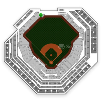 Philadelphia Phillies at Citizens Bank Park Section 147 View