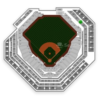 Philadelphia Phillies at Citizens Bank Park Section 204 View