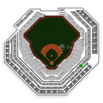 Philadelphia Phillies at Citizens Bank Park Section 213 View