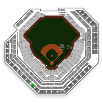Citizens Bank Park Section 424 Seat Views | SeatGeek on