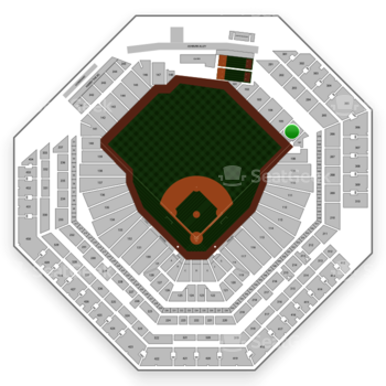 Philadelphia Phillies at Citizens Bank Park Section 106 View