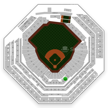 Philadelphia Phillies at Citizens Bank Park Section 120 View