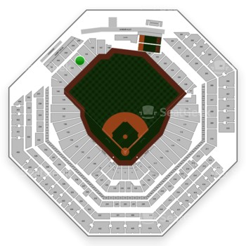 Philadelphia Phillies at Citizens Bank Park Section 144 View