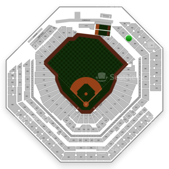 Philadelphia Phillies at Citizens Bank Park Section 203 View