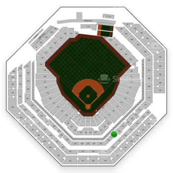 Philadelphia Phillies at Citizens Bank Park Section 218 View