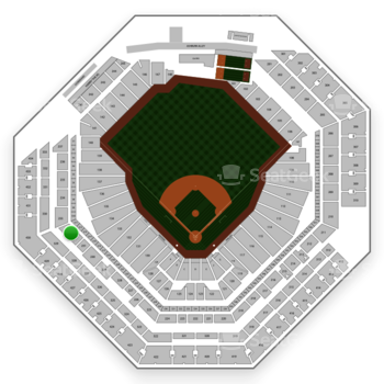 Philadelphia Phillies at Citizens Bank Park Section 232 View