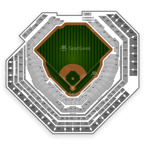 Citizens Bank Park seating chart Philadelphia Phillies