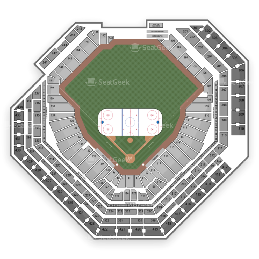 Citizens Bank Park Seating Chart NHL